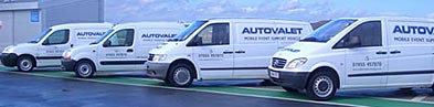 Autosheen's Mobile Valeting Units